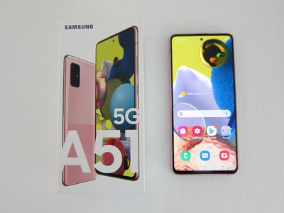 Samsung Galaxy A51 5G 6.5吋四鏡頭智慧型手機/2020年12月購*只要8800元*(A1204)