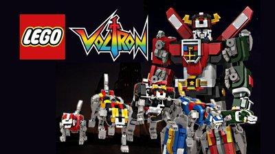 全新現貨 LEGO Ideas 21311 Voltron 百獸王
