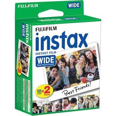 Fujifilm Instax Wide Film 馬上看 大支 20張 富士 寬幅底片 拍立得 相片 底片