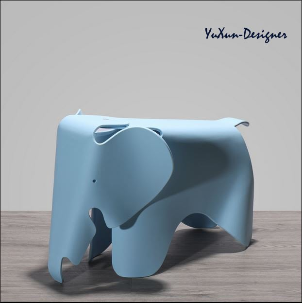 瑞士 Vitra Eames Elephant兒童大象椅 Charles & Ray Eames 設計復刻品 宥薰設計家