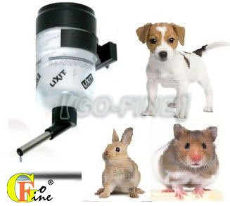 夠好 立可吸 QLFT-16 免子喝水瓶 兔子喝水器 鋼棒飲水瓶-16oz小容量(480cc)美國寵物第一品牌LIXIT