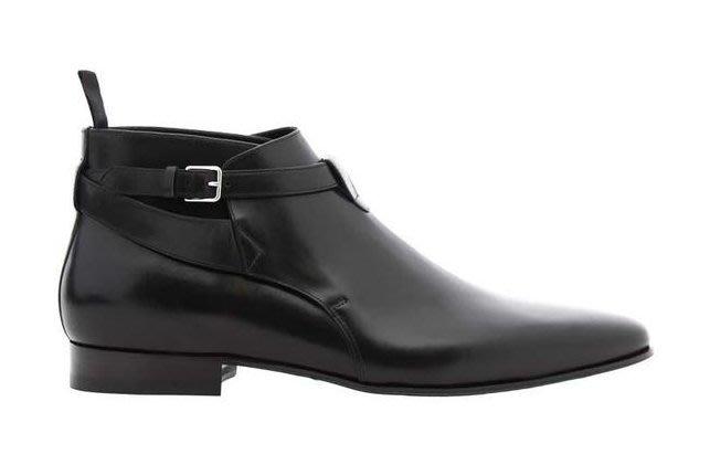 SLP真皮高幫男鞋尖頭男靴時裝短靴牛仔靴馬丁靴子 GD 權智龍 箸用 訂製 1比1 真皮 短靴 尖頭短靴