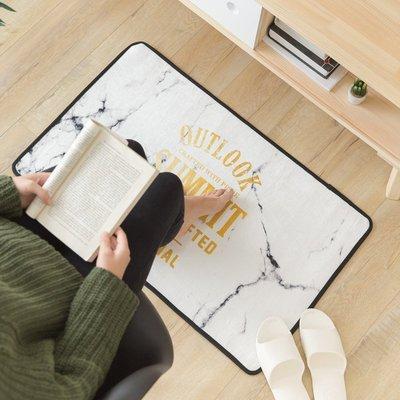 【ITEM】北歐簡約大理石紋地毯 (40*60) 踏墊 腳踏墊 臥室踏墊 床邊踏墊 門口踏墊 禮物 情人節  臥室
