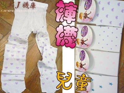 O-83-3兒童花紋褲襪【大J襪庫】夏天透膚薄天鵝絨-跳舞襪啦啦隊合唱團-女童襪包腳褲長襪8-11歲-星星點點白-台灣製