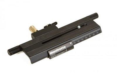 曼富圖 MANFROTTO 454 快速接座 Micro-positioning Sliding Plate【正成公司貨