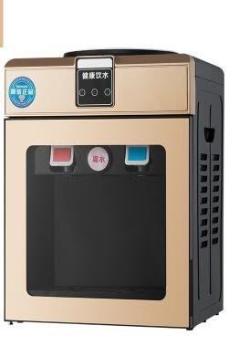 [免運]220V  迷你飲水機台式 迷你型冷熱家用辦公室節能制冷全自動宿舍小型冰—印象良品