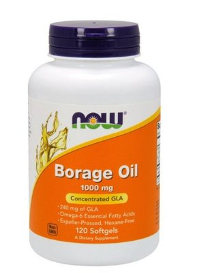 ❤️現貨24小時出貨❤️ Now Foods 琉璃苣油 Borage Oil 1000mg 120粒 保證公司正貨