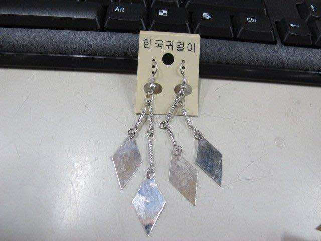 二手舖 NO.4496 時尚造型耳環 耳針 耳鉤 便宜賣 首飾飾品