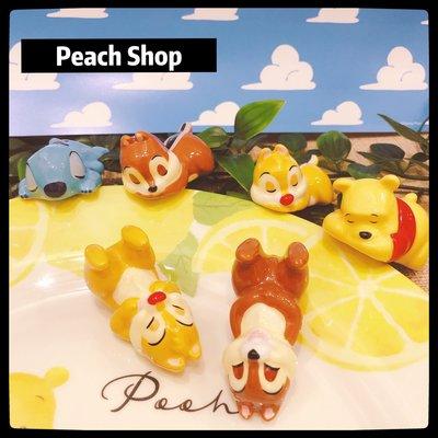 【桃子小舖 ♥ P.S 】日本迪士尼 筷架 奇奇蒂蒂/小熊維尼/史迪奇 ✈日本迪士尼商店✈
