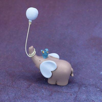 蛋糕裝飾 餐盒 烘焙蛋糕裝飾氣球小象擺件云朵流蘇插件生日派對甜品情景裝扮布置 哆啦A夢的手提袋 嘉義市