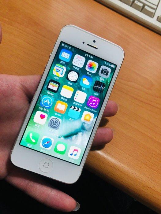 ☆手機寶藏點☆iPhone 5 32GB 銀色 二手機 電源鍵壞 其他功能皆正常 歡迎貨到付款 聖IP5