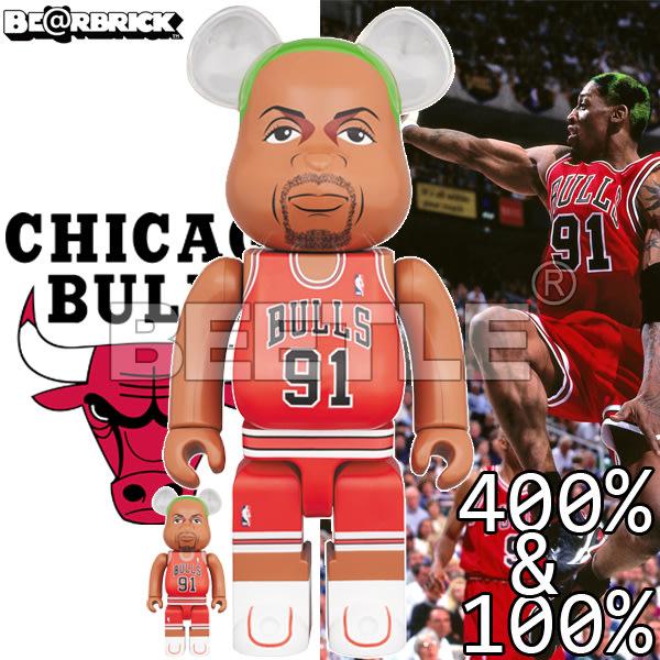 BEETLE BE@RBRICK NBA LEGENDS 傳奇球星 RODMAN 小蟲 庫柏力克熊 400 100%