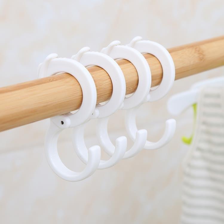 防風卡扣s型塑料掛鉤收納多工能掛鞋子衣鉤DBX