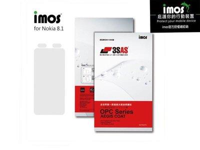 imos官方授權總經銷免運IMOS 3SAS NOKIA 8.1 NOKIA 9 螢幕保護貼