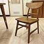 【米蘭柚木傢俱】全柚木餐椅 -  北歐款...