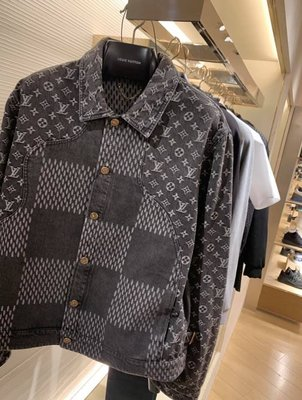 LV 2020限量版 牛仔襯衫 1A7...
