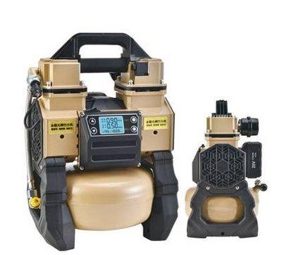 WIN五金 MK-POWER 18V無刷無油靜音型空壓機 5L桶 木工 釘槍 送風機 鼓風機