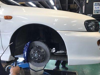 JK Racing 前四活塞卡鉗組 SUBARU IMPREZA GC8 GF8 WRX  全車系皆可訂製安裝