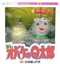 日本正版 VCD 小鬼Q太郎 O次郎 & P子 模型 公仔 藤子・F・不二雄博物館限定 日本代購
