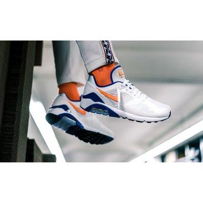 Nike Air Max 180 OG Ultramarine 湖人 氣墊 慢跑 紫白 615287 101