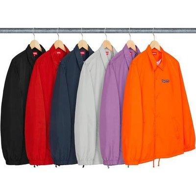 【紐約范特西】預購Supreme Gonz Logo Coaches Jacket