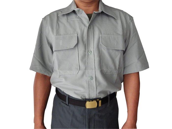 陸軍軍便服上衣(短袖) 不含長褲及銅釦和皮帶和皮鞋唷