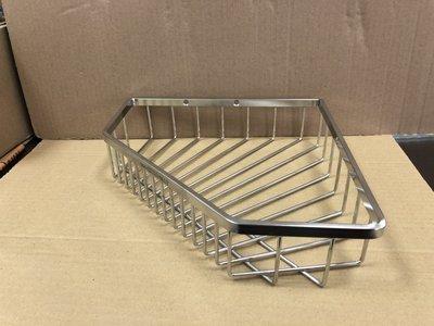 蝴蝶衛浴~附發票~台灣製造MIT.304轉角架,不銹鋼轉角架.浴室置物架,沐浴乳架,肥罩架,