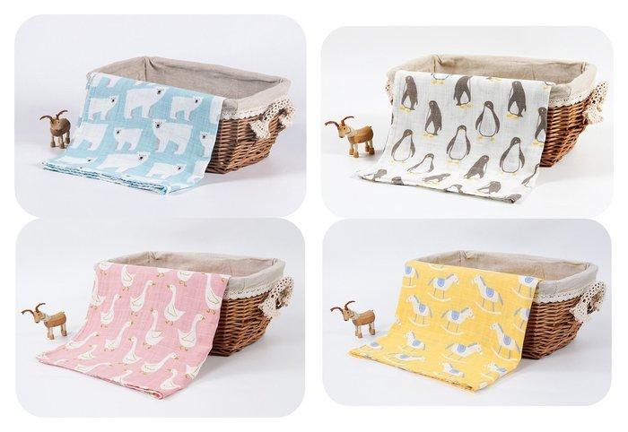 正品荷蘭muslin tree 紗布包巾蓋被雙層紗禮盒