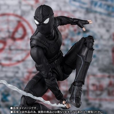 全新 行版 魂限 啡盒 Bandai SHF Marvel Avengers Spider-man Stealth Suit Spiderman