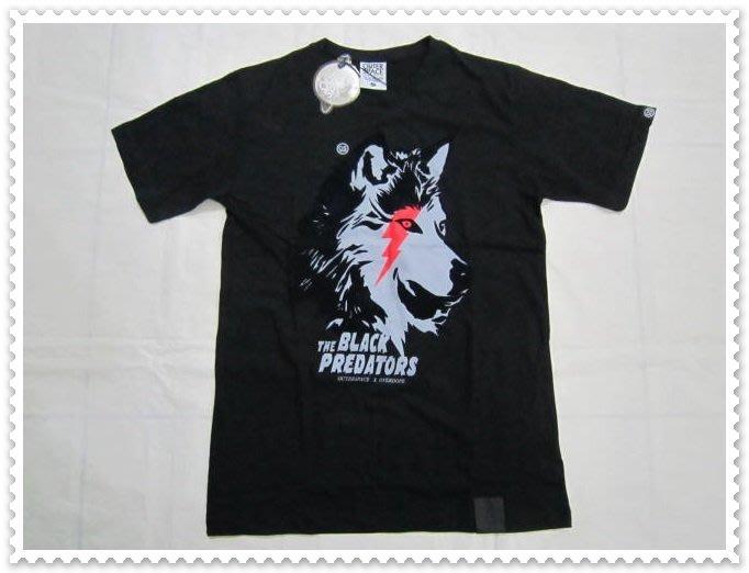 全新精品 吊牌未拆【OUTER SPACE】黑色 圖紋 短袖 T恤 100%綿 SIZE:L - 003