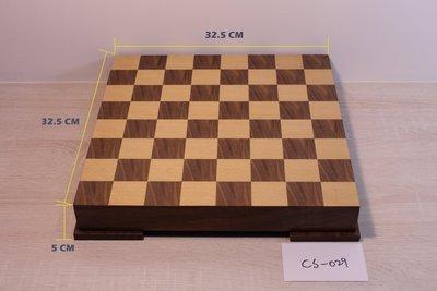 [桌遊] 經典款木製西洋棋組 chess