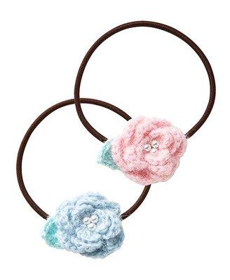 6月超特價familiar日本代購女童花朵髮繩030420
