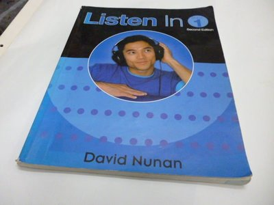 《Listen in - Book 1 - Text》ISBN:0838404081│Heinle & Heinle│NUNAN, DAVID