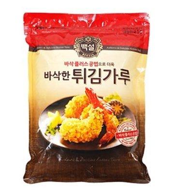 韓國進口CJ炸蝦粉1KG~粉酥炸粉~韓式炸蝦粉韓國/來自星星的你炸雞配啤酒/韓劇