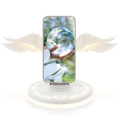 IB 奇點生活 + Angel Wings Wireless Fast Charger  天使之翼無線快速充電器