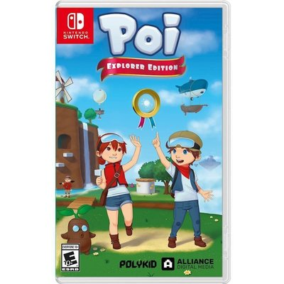 (現貨全新) NS SWITCH Poi 探險者版 英文美版  Poi Explorer Edition