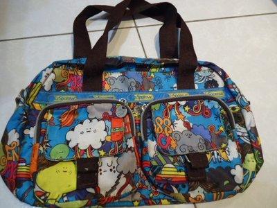 Lesportsac 手提包,寬度:35cm,高度:22cm,少用極新,降價大出清