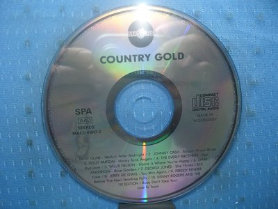 [無殼光碟]EN  Country Gold [Intercontinental] MADE IN GERMANY