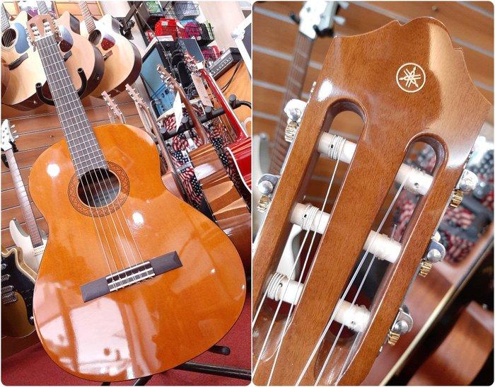 ♪♪學友樂器音響♪♪ YAMAHA C40II 古典吉他 入門首選 尼龍弦 公司貨