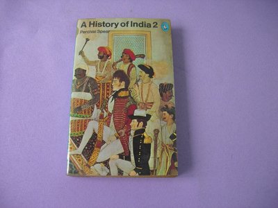 A History of India 2 by Percival Spear