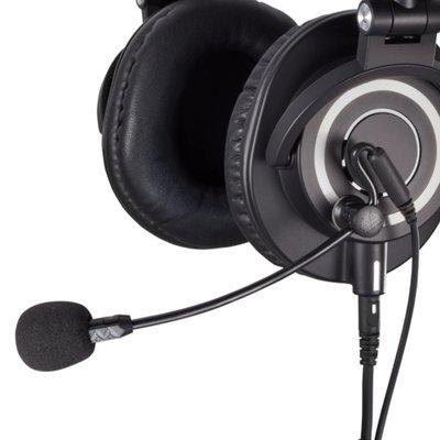 又敗家@美國Antlion Audio磁扣降噪ModMic Uni耳罩耳機用外接麥克風GDL-1420單一指向性高靈敏度