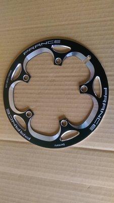 【馬上騎腳踏車】PRANCE 52齒T BCD130nm CNC鐳雕鋁護盤 五爪式