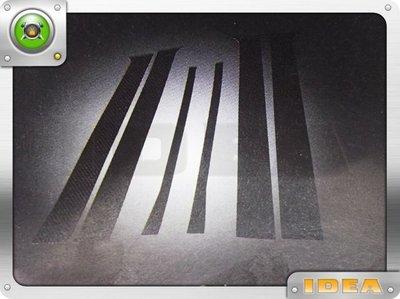 泰山美研社 D3964 BENZ W211 E CLASS CARBON 6件組車身支柱飾條