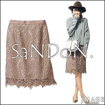 SaNDoN x『IMAGE』ケミカルレ版型超顯瘦花邊蕾絲包臀及膝裙 SNIDE 韓妮 170719