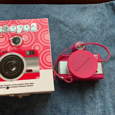 Lomography fisheye no.2 pink
