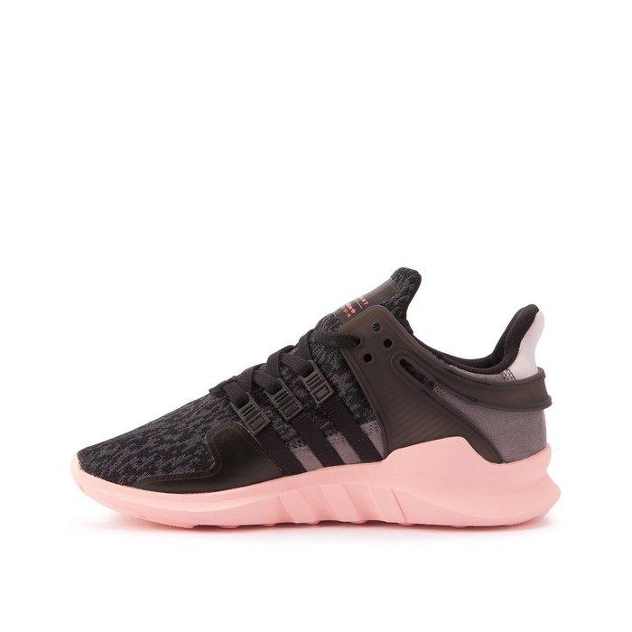 【美國鞋校】現貨 Adidas EQT Support ADV BB2322 黑色雪花編織 粉紅底女鞋