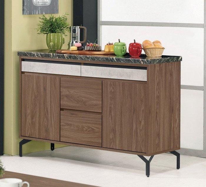 尼克4尺石面收納櫃/餐櫃😊暖暖屋傢俱傢飾😊