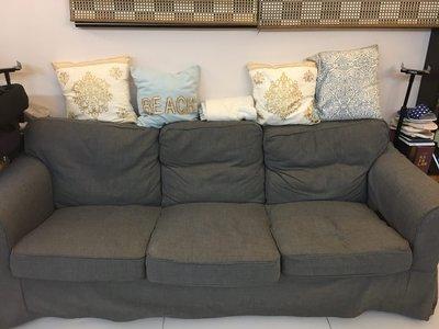 免費3人座梳發 Three-seat sofa, dark grey FREE