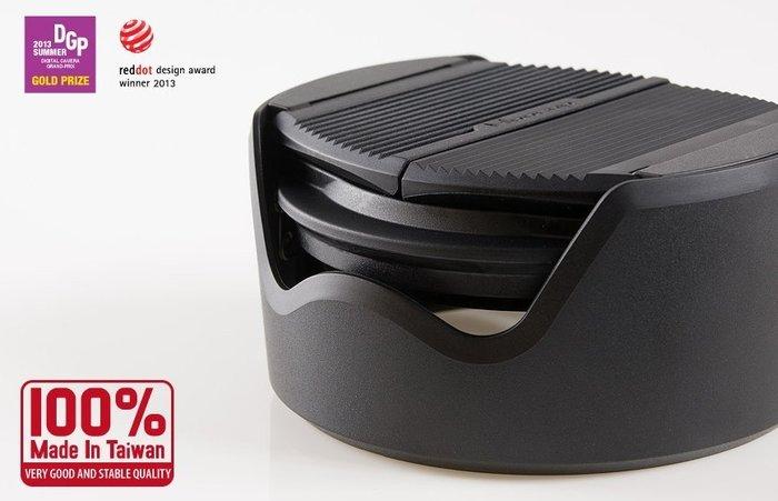 台灣HOOCAP半自動蓋適Panasonic 14-42mm半自動鏡蓋F/3.5-5.6半自動鏡頭蓋M6652C遮光罩鏡頭蓋相容52mm鏡頭蓋1:3.5-5.6