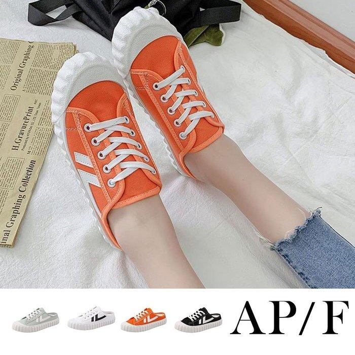 餅乾鞋系列厚底休閒懶人鞋穆勒鞋 【SW20L108】
